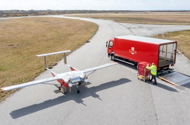UK postal service tests autonomous drone deliveries to remote islands