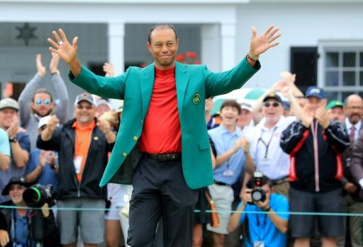 8076386a Tiger Woods, coming off a Masters triumph last month at Augusta National,  makes his first bid for a 16th major title at next week's PGA Championship