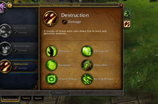 Blood Pact: Destruction 101 at 90 in the end of Mists