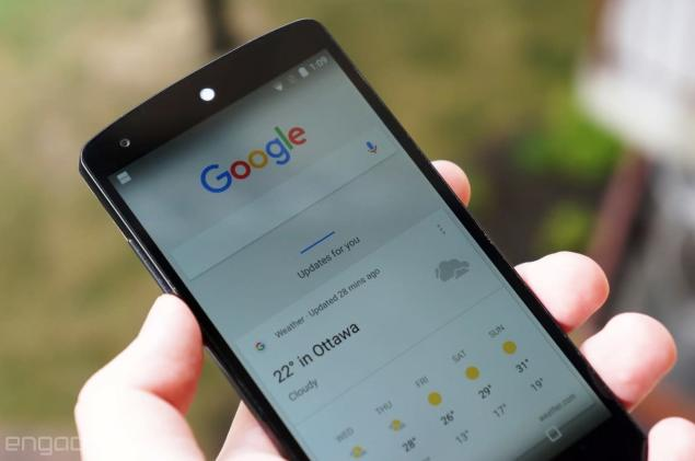 Foursquare cards are popping up in Google Now, even without the app