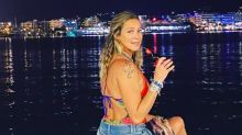 """Curtindo Ibiza, Luana Piovani acalma fãs: """"Não precisa ficar preocupado com a minha saúde"""""""