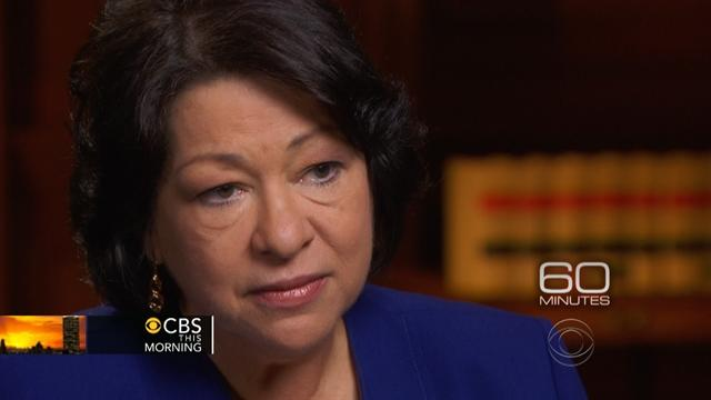 Sonia Sotomayor opens up on