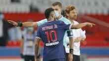 Neymar one of five sent off as Marseille win at Paris St Germain