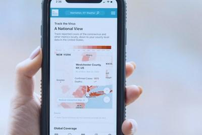 News post image: IBM Offers Free Tools Based on Trusted Data to Track COVID-19 Cases on Your Phone and Online