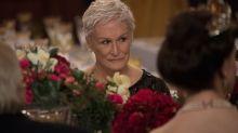 Glenn Close mostra suas credenciais para Oscar com 'A Esposa'