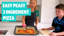 Easy Peasy: Three ingredient pizza