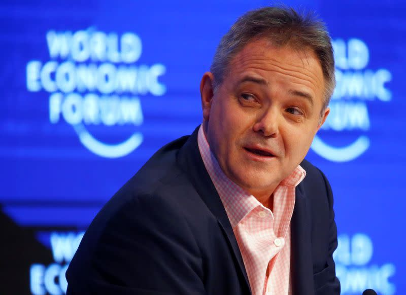 FILE PHOTO: Farrar Director of the Wellcome Trust attends the WEF annual meeting in Davos