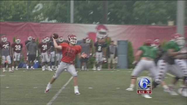 Temple Owls gear up for Notre Dame