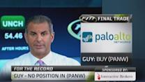 Fast Money Final Trade: BBY, HD, AAPL, PANW