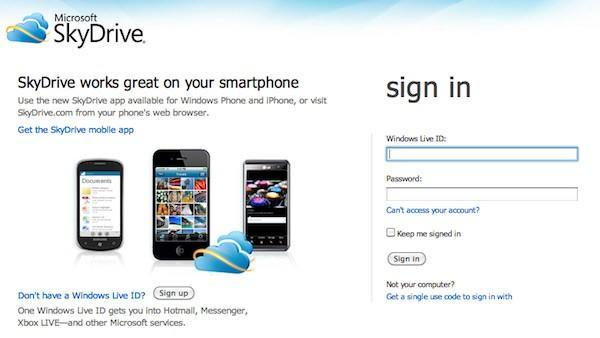 Microsoft SkyDrive impressions: a look at features and functionality