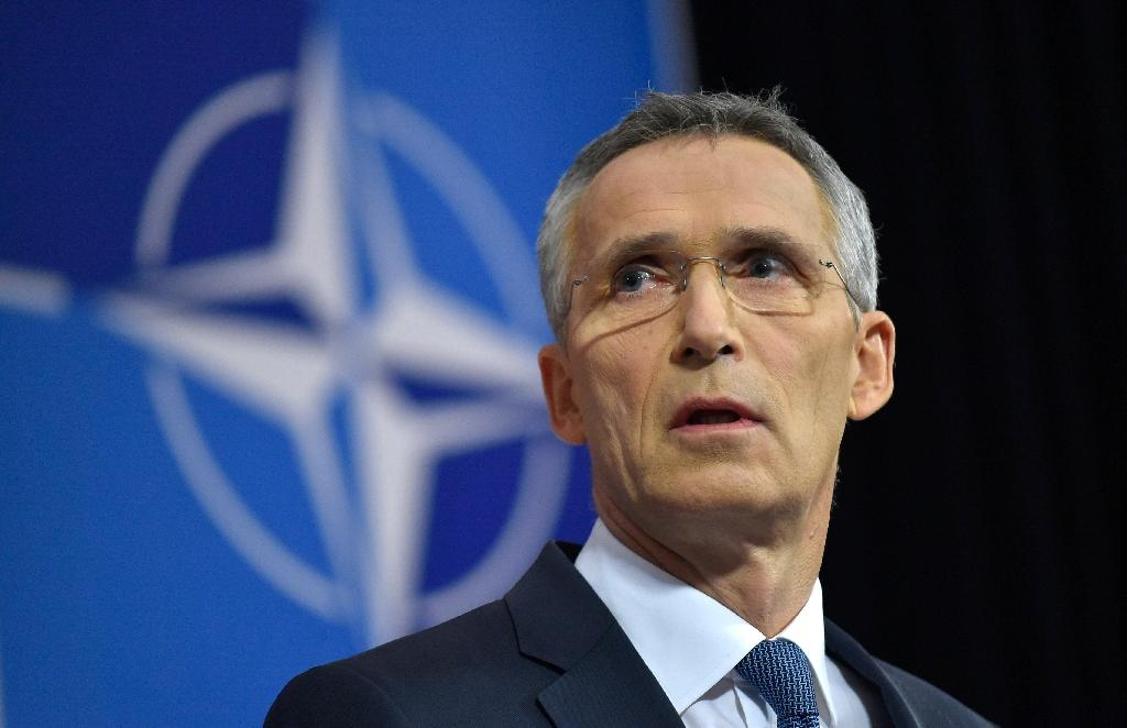 NATO Secretary-General Jens Stoltenberg moved quickly to say sorry after an episode that risked creating further strife between Turkey and its allies (AFP Photo/JOHN THYS)