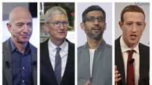 Spotlight on 4 Big Tech CEOs testifying in competition probe