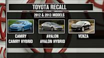 Toyota recalling 800,000 cars over airbag safety issues