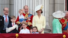 Prince George, Princess Charlotte, and Prince Louis Brought the Cute to Trooping the Colour—See the Photos!