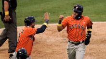Trout sets franchise HR mark, Angels rally to beat Astros