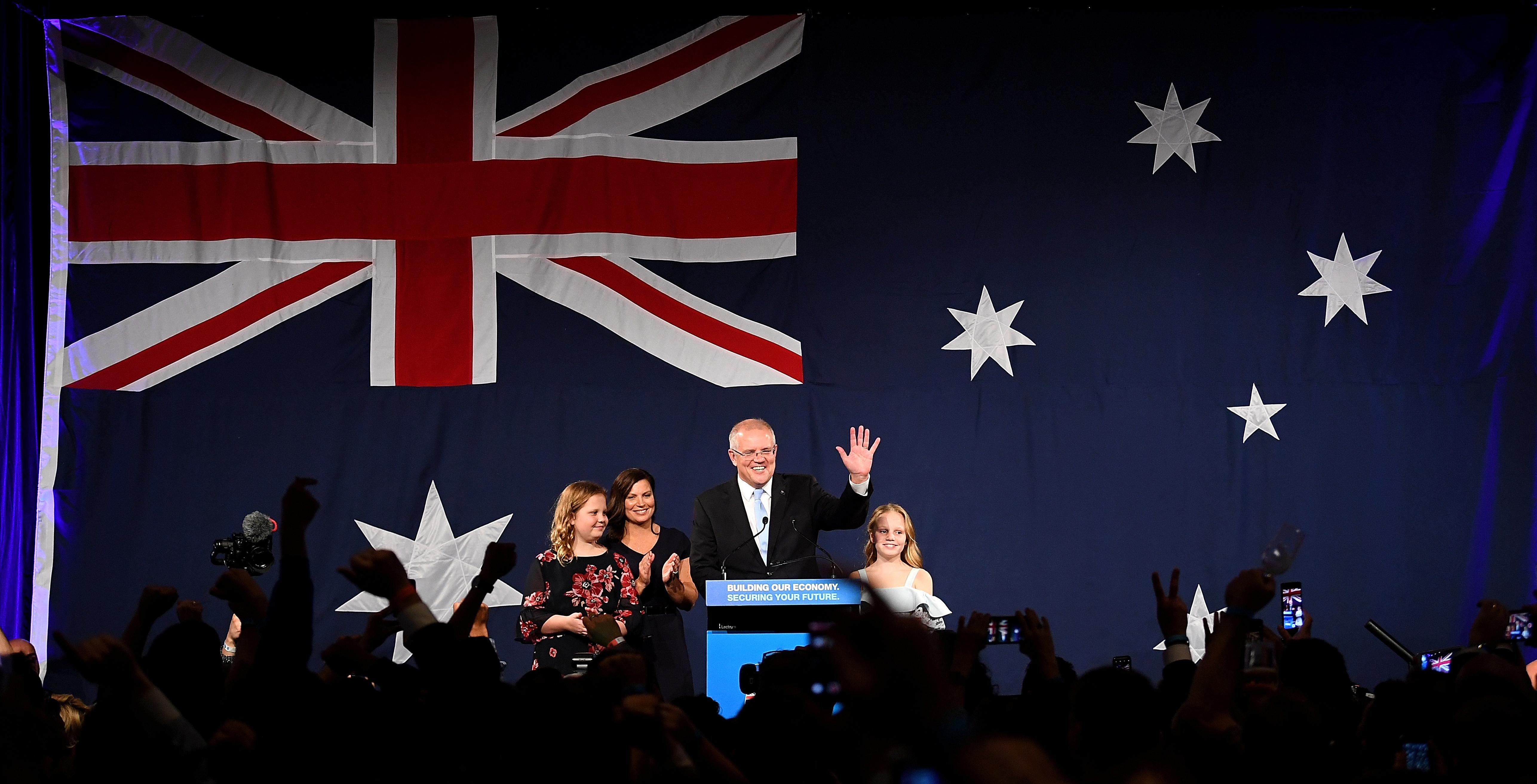 Australia's Conservative Government On Course For 'miracle