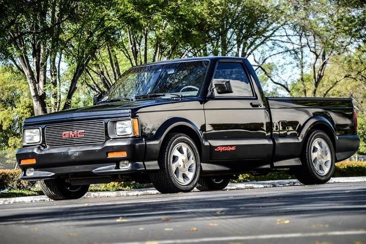 GMC Syclone vs Ford F150 Lightning Which Would You Buy