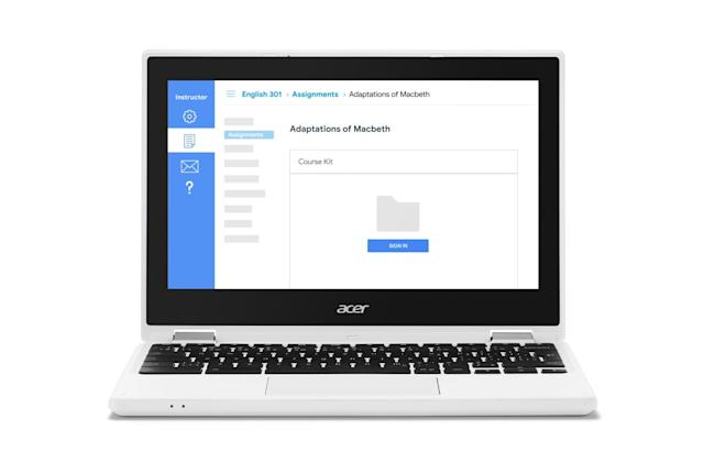 Google's Course Kit injects Docs and Drive into educator software