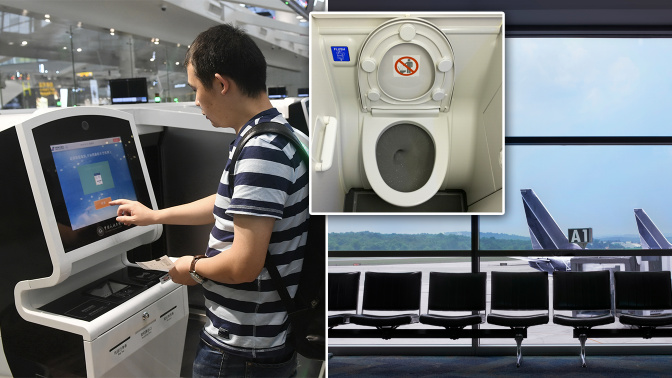 Revealed: The dirtiest places in planes and airports - and how often they get cleaned