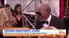 Eight women accuse Morgan Freeman of sexual harassment