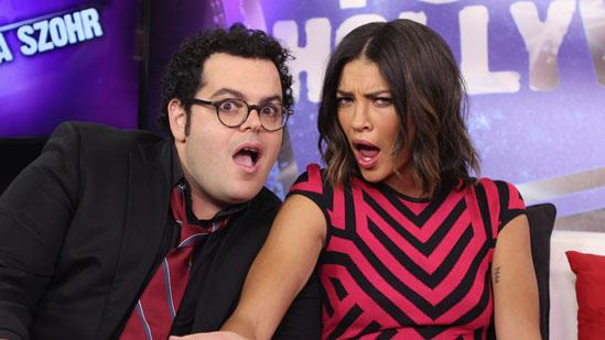 Do Josh Gad and Jessica Szohr Google Themselves?