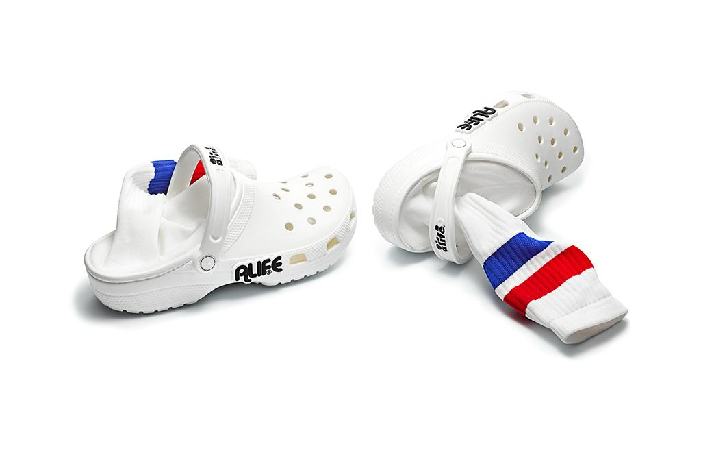365361a53dc Crocs Just Got a Sock-Sandal Hybrid Makeover   More in a New Collab With  Alife