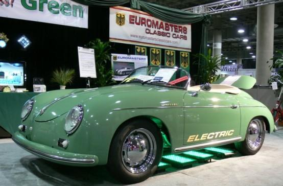 Euromasters electric classic Porsche replicas let you be a rebel without a gas tank