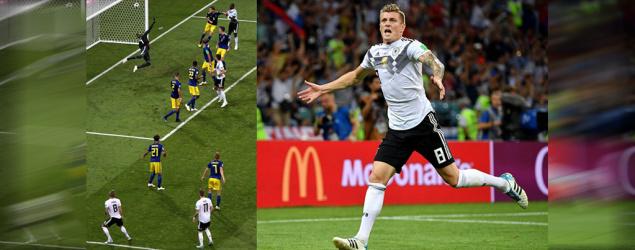 【世盃】卻奧斯補時轟世界波!德國驚險絕殺瑞典保出線資格