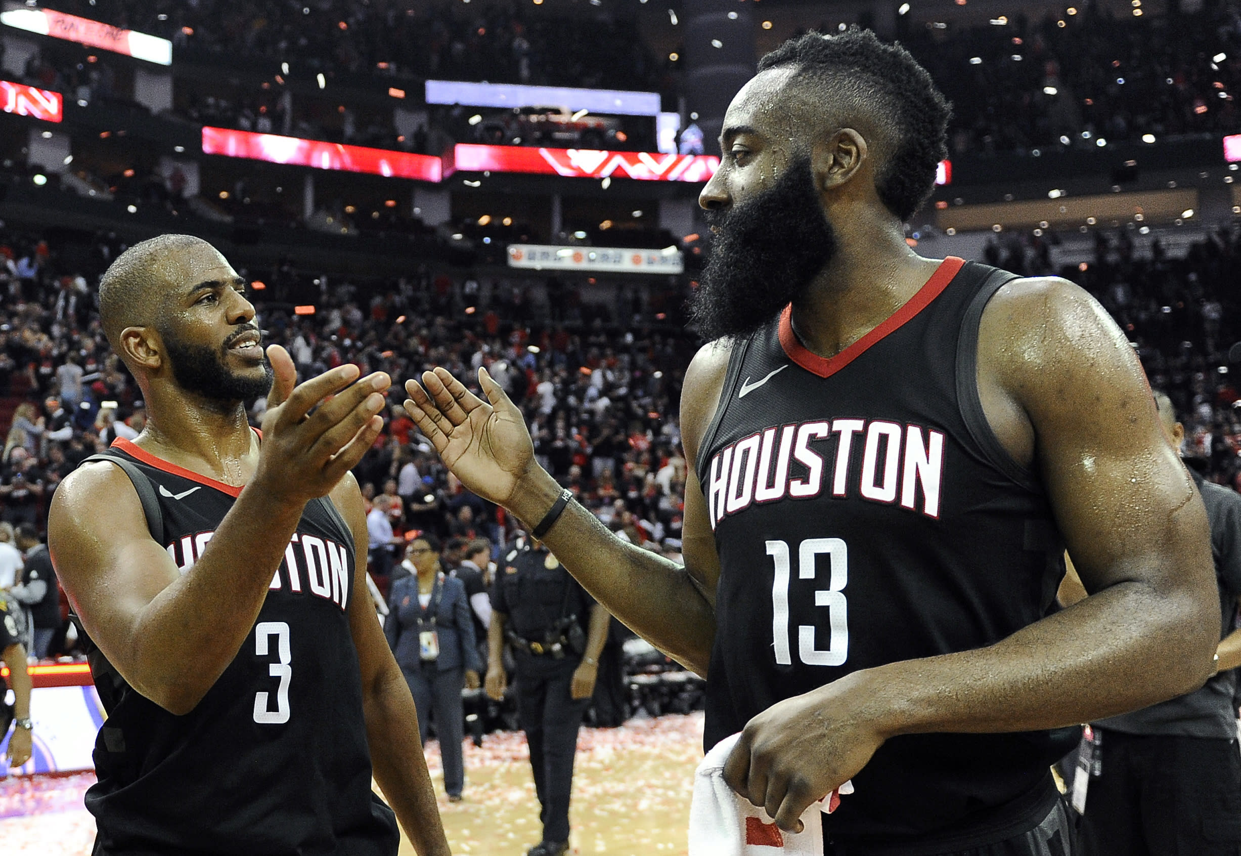 2d8a24d240e5 Chris Paul carries Rockets past Jazz in Game 5 win to reach his first-ever  conference finals