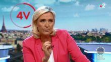 """Marine Le Pen """"accepte"""" le temps de parole offert par un député ex-LREM sur l'immigration"""
