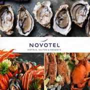 中秋適用【Novotel即開生蠔、鱈場蟹腳、藍蟹自助晚餐】超易回本