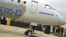 Embraer pushes E2 jet's low maintenance, fuel costs amid Airbus rivalry