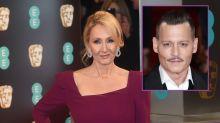 JK Rowling slammed for blocking fan who questioned Johnny Depp's Fantastic Beasts' involvement