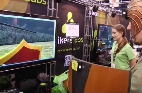 Aiken Labs shows off modular motion-sensing game kit, we give it a swing (video)