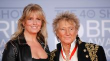 Rod Stewart bought Penny Lancaster a narrowboat for her 50th birthday