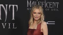 Michelle Pfeiffer broke her arm after slipping on a wet bathroom floor