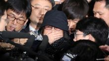 South Korean prosecutors arrest woman at center of political crisis