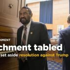 U.S. House votes to set aside impeachment resolution against Trump