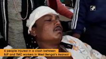 6 injured in clash between BJP and TMC in WB's Asansol