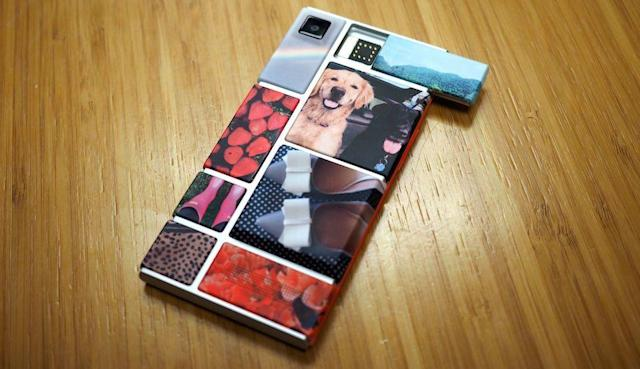 Swapping smartphone modules with Google's latest Project Ara prototype