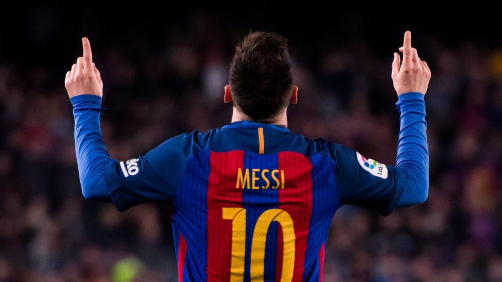 Lionel Messi, una dedicatoria especial