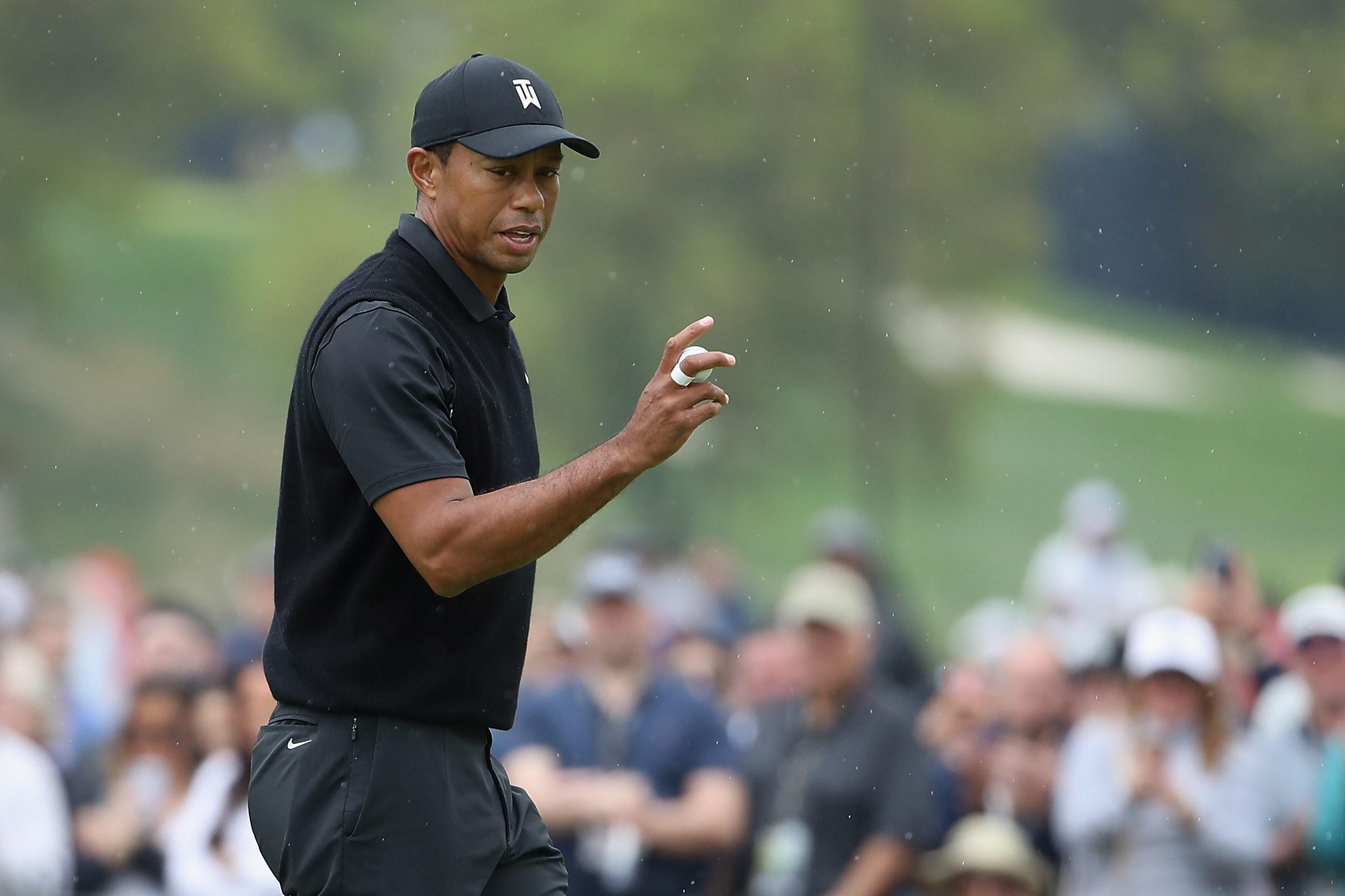 0feb2637 PGA Championship 2019: Tiger Woods had the perfect comeback when asked  about missing the cut