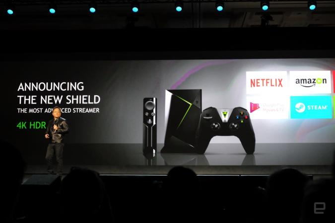 NVIDIA's redesigned Shield gets HDR for games and a new controller