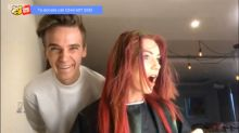 'Strictly' dancer Dianne Buswell shocked as Joe Sugg gives her a haircut on TV