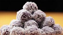 Purple Sweet Potato Ondeh Ondeh