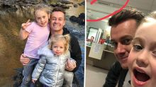 Grant Denyer's daughter Sailor rushed to hospital
