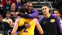 LeBron, Lonzo match amazing 36-year Lakers feat
