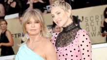 Kate Hudson poses for multi-generational magazine cover alongside daughter Rani and mum Goldie Hawn