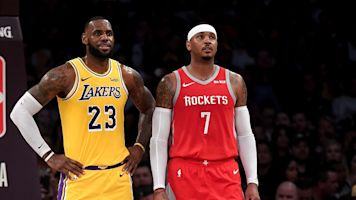 Ex-NBA player says Melo 'being blackballed'