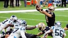 Saints beat Carolina, 27-24, on missed field goal after video crew shows previous miss